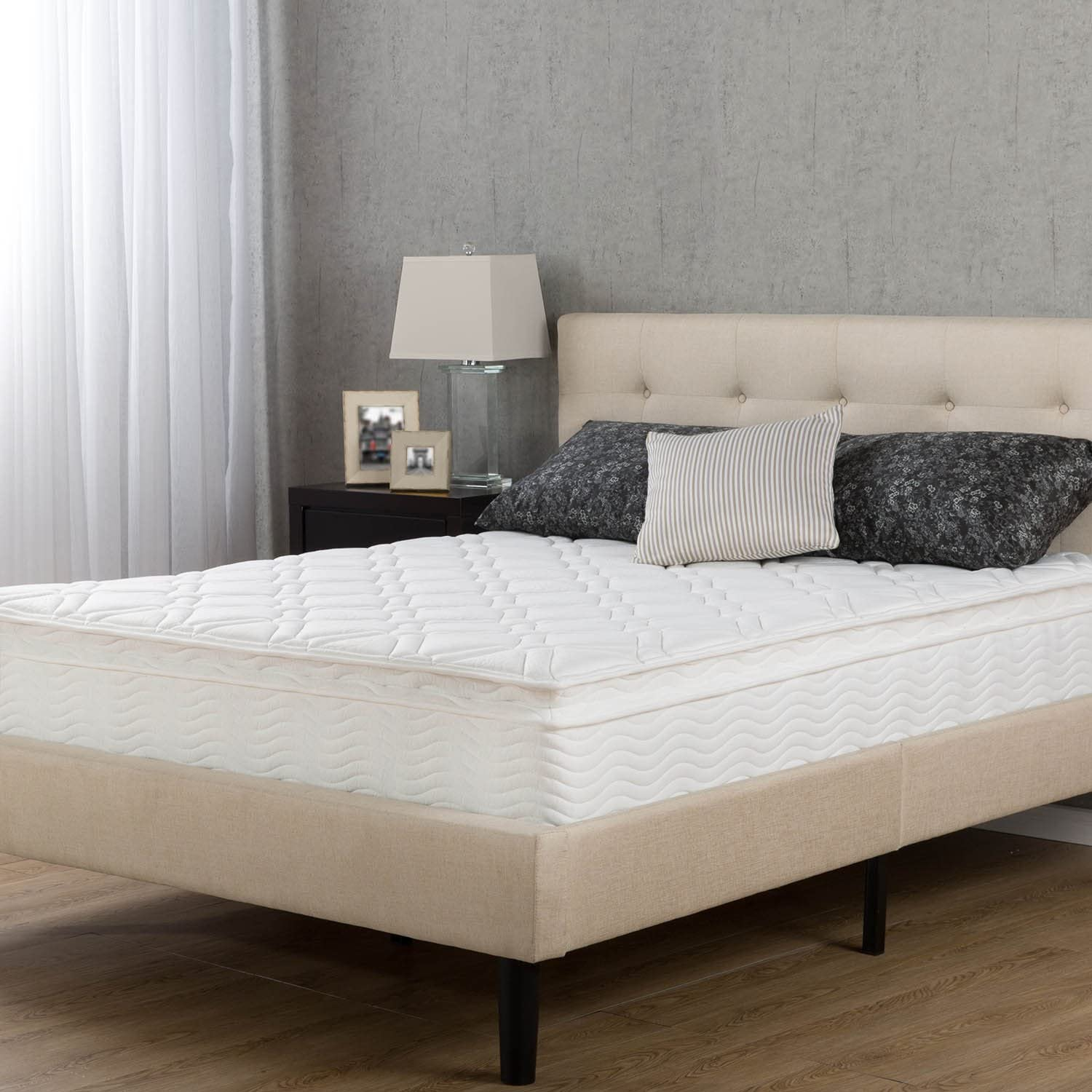 Night Therapy Spring 10 Inch Pillow Top Mattress, King