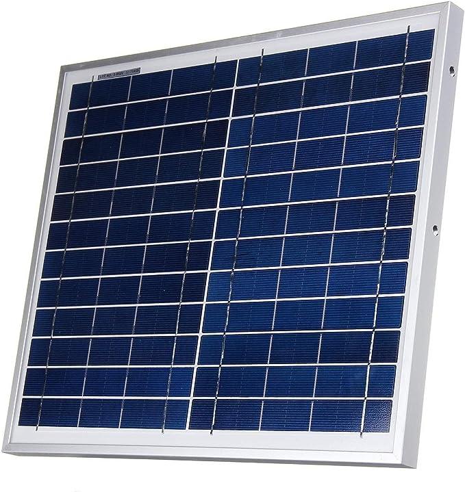 JeanPolly Herramientas del generador Módulo del Sistema Cargador del Panel de 12W 12V polisilicio Solar batería Marina de Barcos RV Impermeable: Amazon.es: Hogar