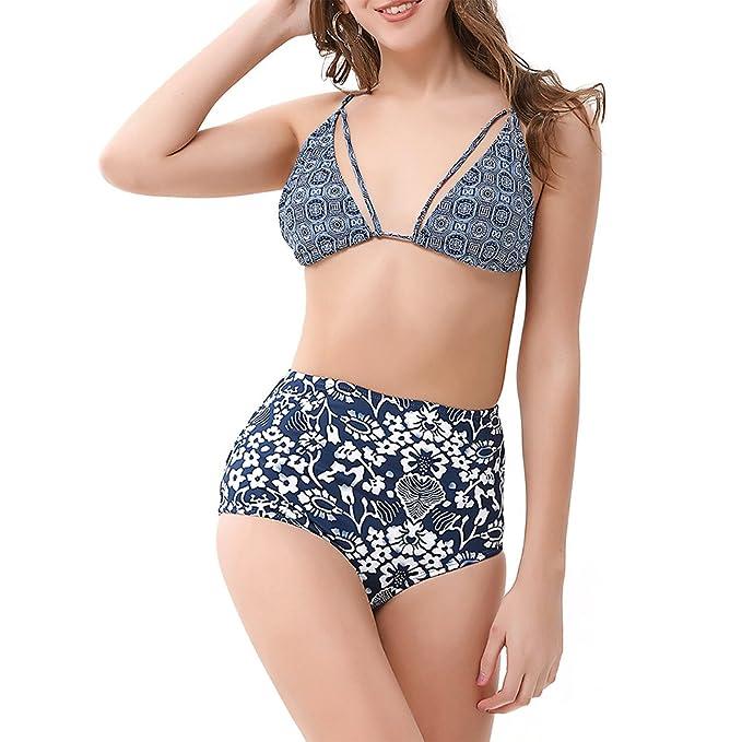 7ae30e6eacb Amazon.com  ZAFUL Women Sexy Push Up Padding High Waisted Bikini Set Bathing  Suits Two Pieces Swimsuit  Clothing