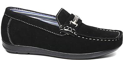 2995859058c Steve Harvey Nolan Boys Designer Fashion Sharp   Adorable Vegan Faux Suede  Loafers Drivers