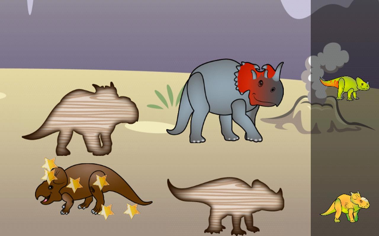 Juegos de dinosaurios para los niños : Rompecabezas del