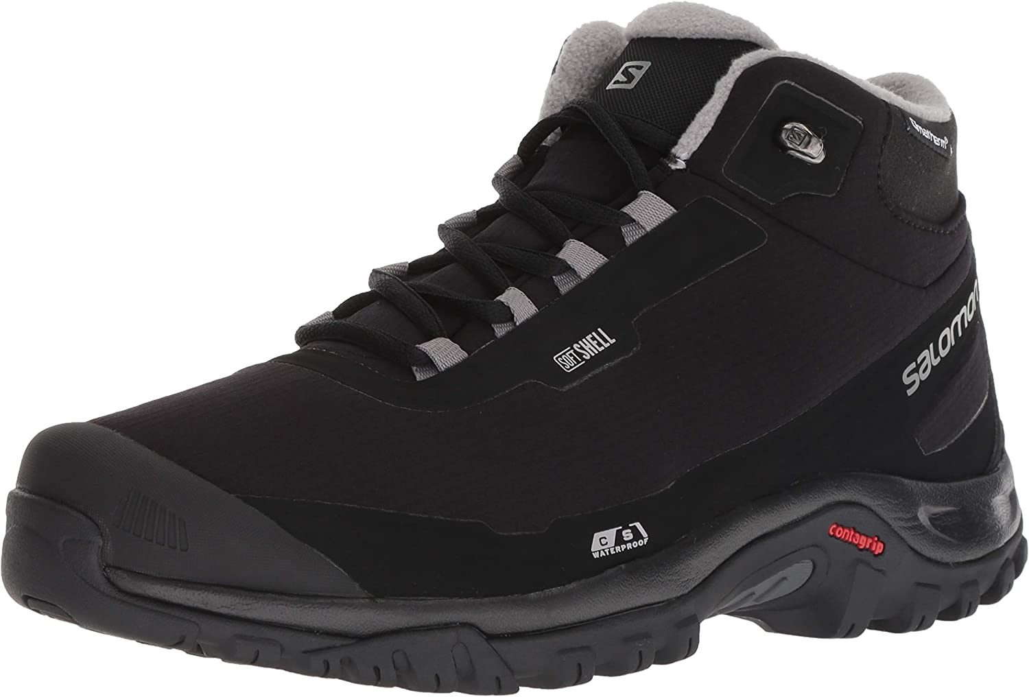 Salomon Men s Shelter CS Waterproof Hiking Boot