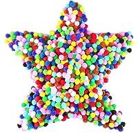 Gifort Pompons, Pompones de Colores, Pompones de Pompon