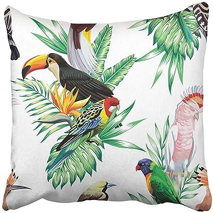 """Cover Cushion Sofa Throw Polyester 18/"""" Home Decor Pillow PillowCase Case Animals"""