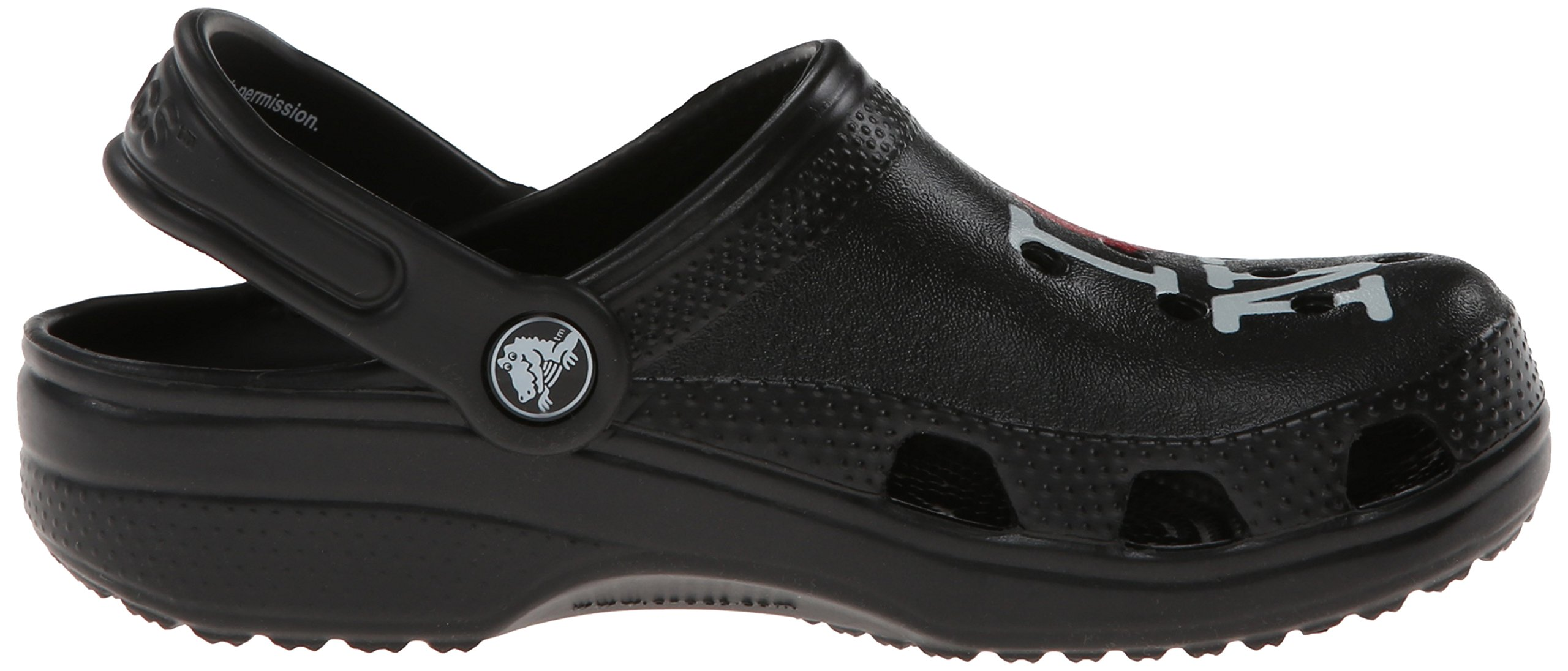 Crocs Kids 15394 I Love NY Classic Clog (Toddler/Little Kid),Black,8 M US Toddler by Crocs (Image #7)