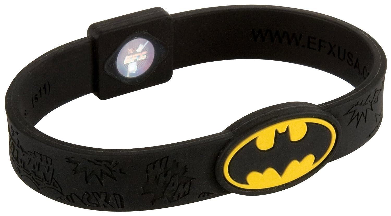 Black EFX Performance Batman Silicone Sport Wristband