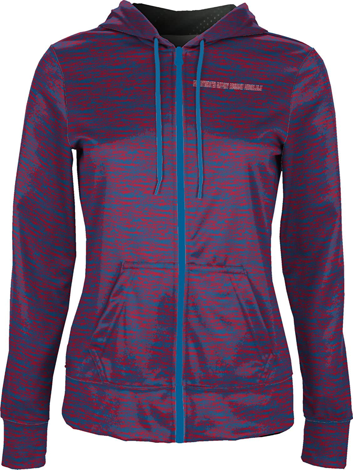 Women's USCG Integrated Support Command Honolulu Military Brushed Fullzip Hoodie