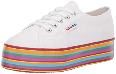 1662dd2da9b Superga Women s 2790 Multicolor COTW Sneaker White Multi 36 M EU (6 ...