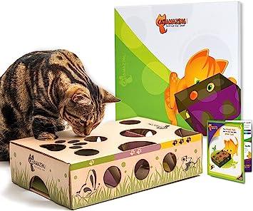 Cat Amazing: Interactive Treat Maze & Puzzle Feeder