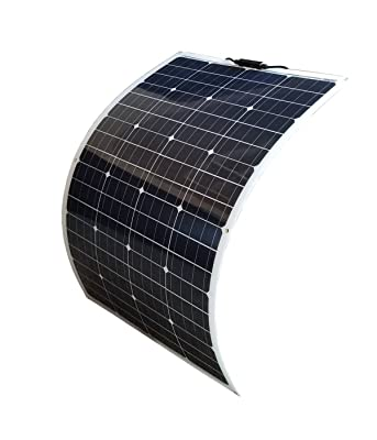 side facing windynation lightweight flexible solar panel