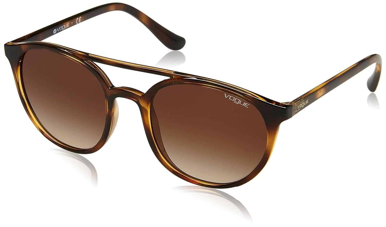 Vogue 0Vo5195S Gafas de sol, Dark Havana, 52 para Mujer ...