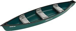 Sun Dolphin Scout SS Canoe (Green, 14-Feet)