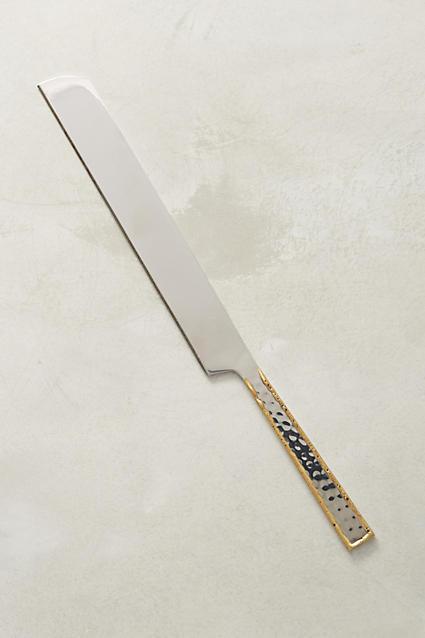 Besart Cake Knife - anthropologie.com