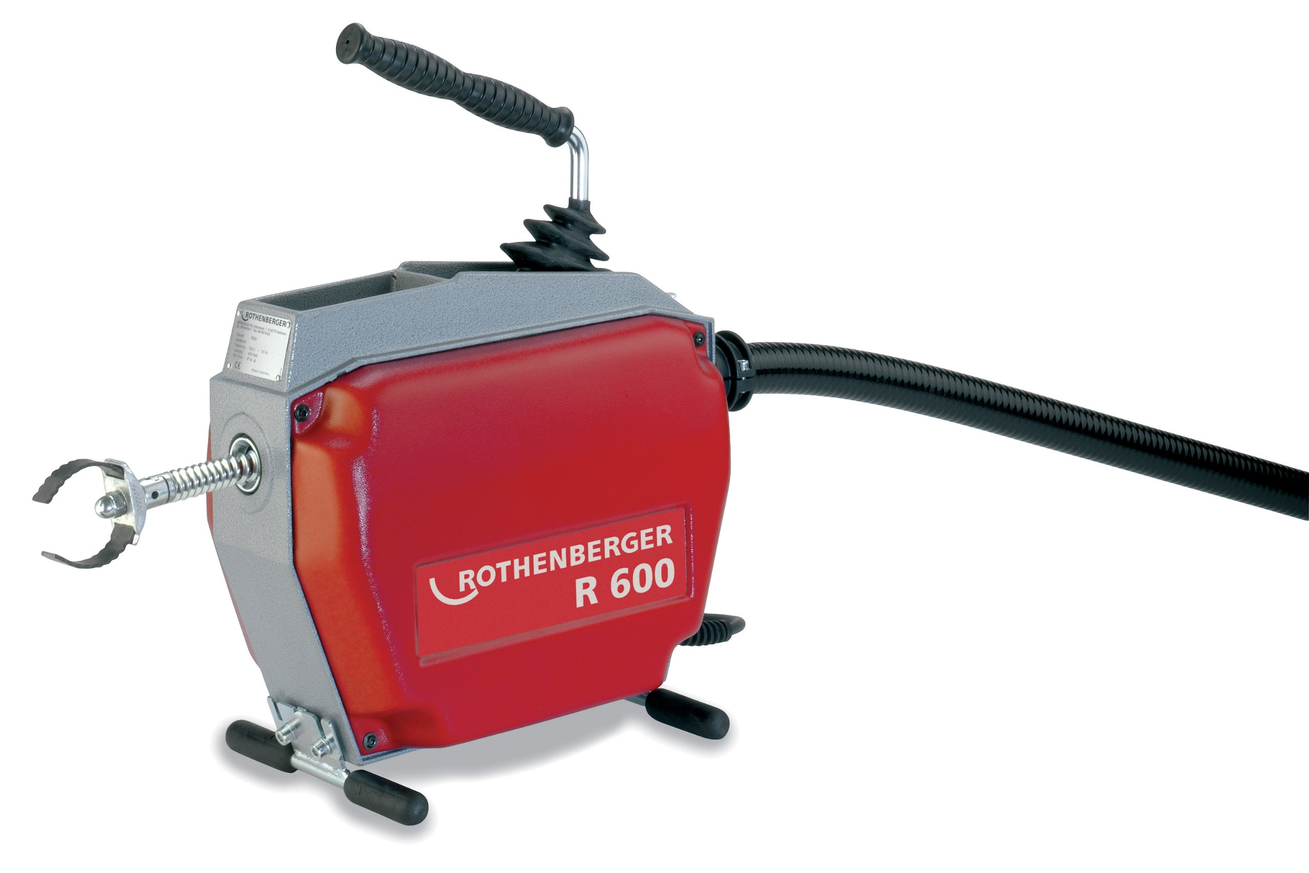 Rothenberger 72869V R600 Drain Cleaning Machine