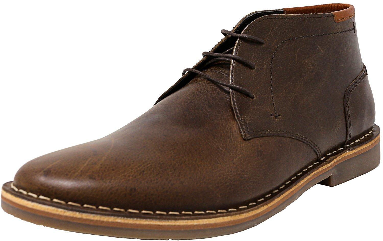 Steve Madden Men's Hestonn Chukka Boot,Dark Brown,13 M US