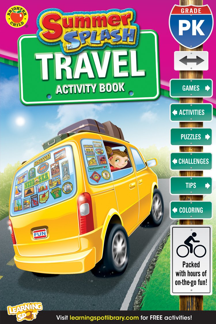 Summer Splash Travel Activity Book, Grade PK ebook