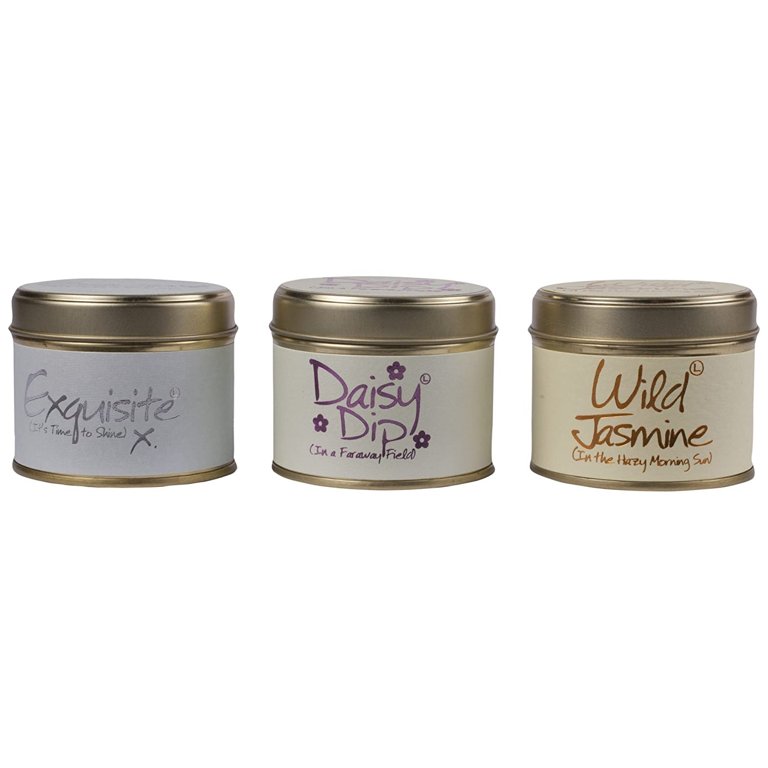 Lily-Flame Scented Candle Trio (Pack of 6) - ユリ炎香りのキャンドルトリオ (Lily-Flame) (x6) [並行輸入品] B01N3SOYZP