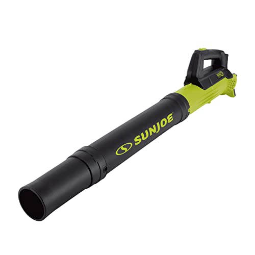 Sun Joe 24V-TB-CT Cordless Compact Turbine Jet Blower, 100MPH 350CFM, Tool Only