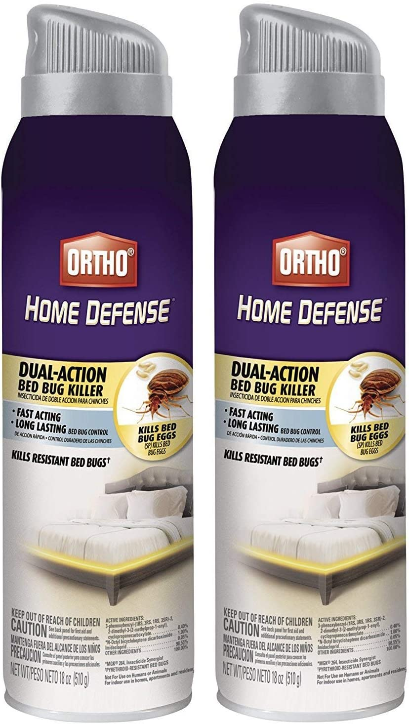 Ortho Home Defense Max Bedbug Killer Spray, 2 pack