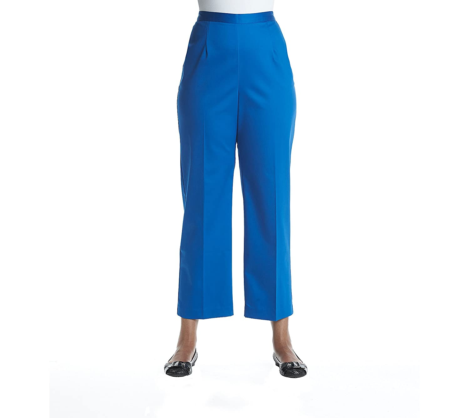 2f157b408e5 Alfred Dunner Plus Size Classic Pants 18W at Amazon Women s Clothing store