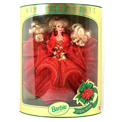 Happy Holidays Barbie Doll Hallmark Special Edition (1993): Toys & Games