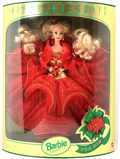 happy holidays Hallmark Barbie