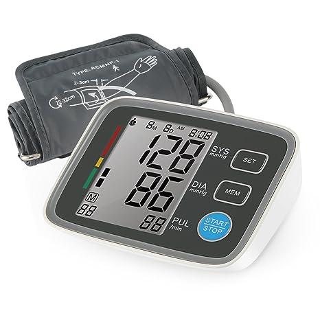 Magicfly - Monitor Digital de Presión Arterial para el Brazo, Monitor electrónico y Automático aprobado