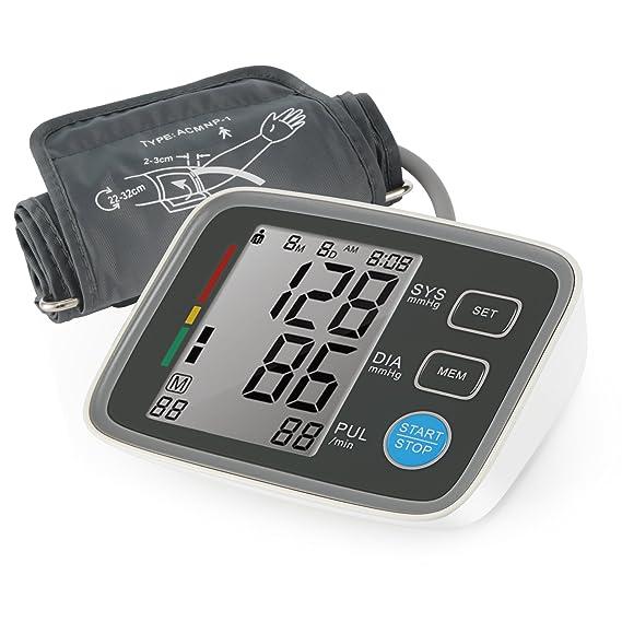 Magicfly - Monitor Digital de Presión Arterial para el Brazo, Monitor electrónico y Automático aprobado por FDA, Tensiómetro de Pantalla LCD, con Bluetooth ...