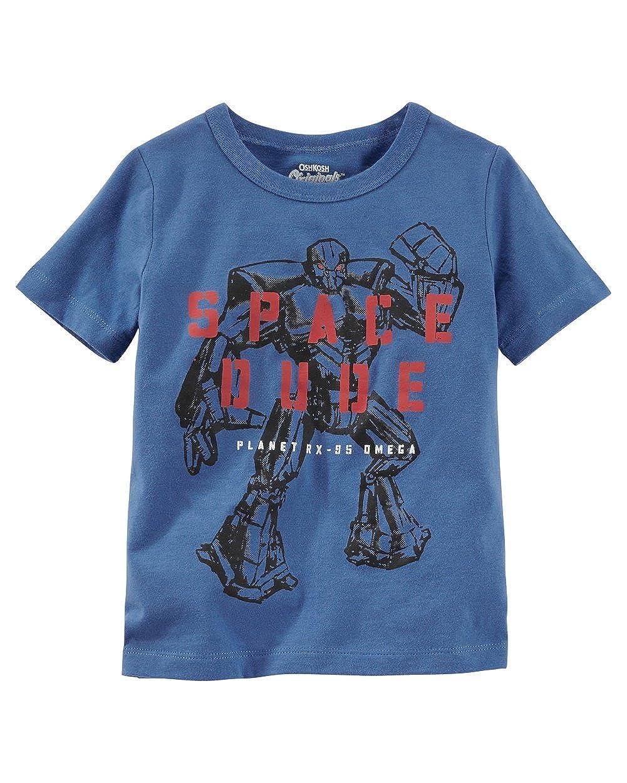 OshKosh BGosh Baby Boys Original Graphic Tee 6 Months Blue