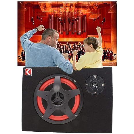 6 pulgadas 35W bajo el asiento del coche compacto subwoofer amplificador bajo altavoz potente amplificador de audio con control remoto Subwoofer JBP-X: Amazon.es: Industria, empresas y ciencia