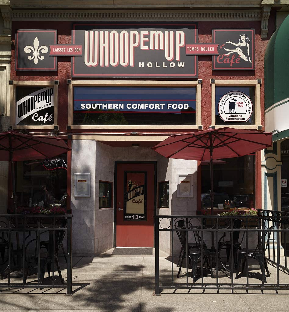 24 x 36 Giclee Print ofAs The Sign Notes This Restaurant Whoopemup Hollow Restaurant Features Southern Comfort Food, and it Even incorporates a Classic New Orleans-Style Fleur de l w19 2018 Highsmith