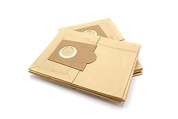 vhbw 10 Bolsas de papel para aspiradora, robot aspirador Bosch BBS 6318-6399, 6318/6318, 6400-6999, 7000-7999 Casa