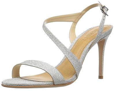 SCHUTZ Women's Aleria Dress Sandal, Prata, ...
