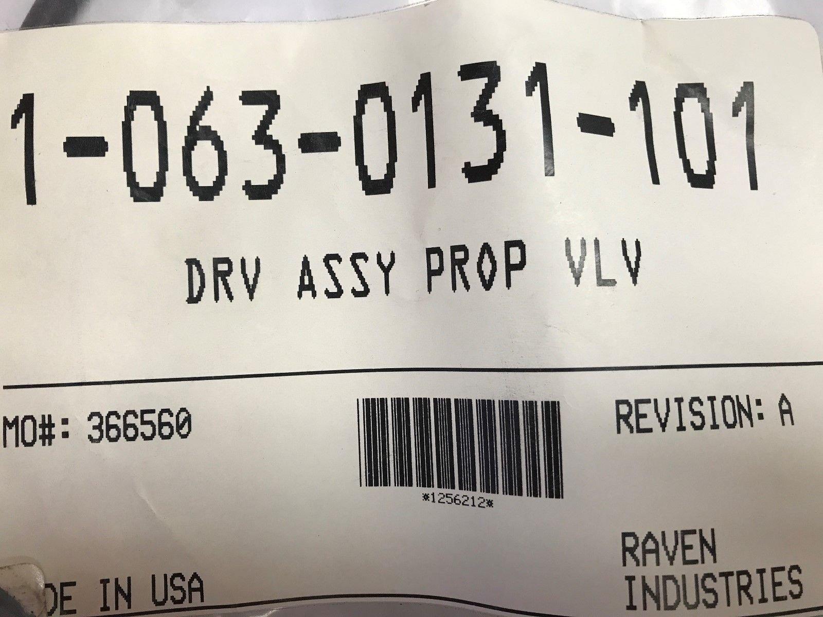 Raven 063-0131-101 Drive Assembly Prop Valve G1 Autoboom