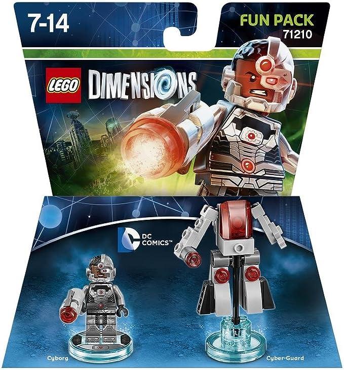 Warner Bros Interactive Spain Lego Dimensions - Cyborg Fun Pack ...
