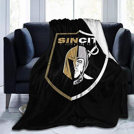 Las Vegas Raiders Inspired Blanket