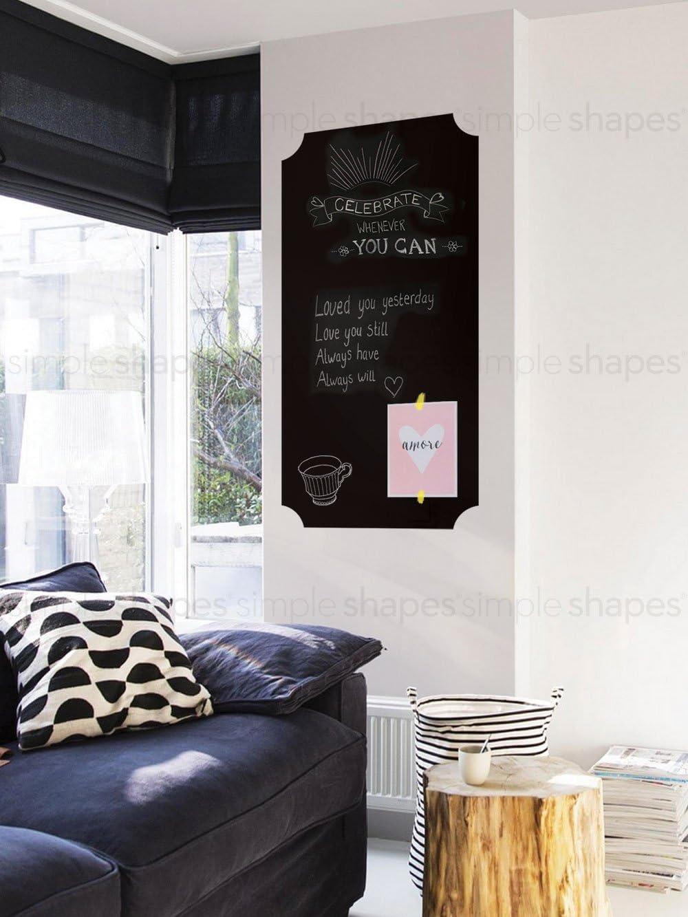 Chalkboard Wall Decal, Elegant Style - 23