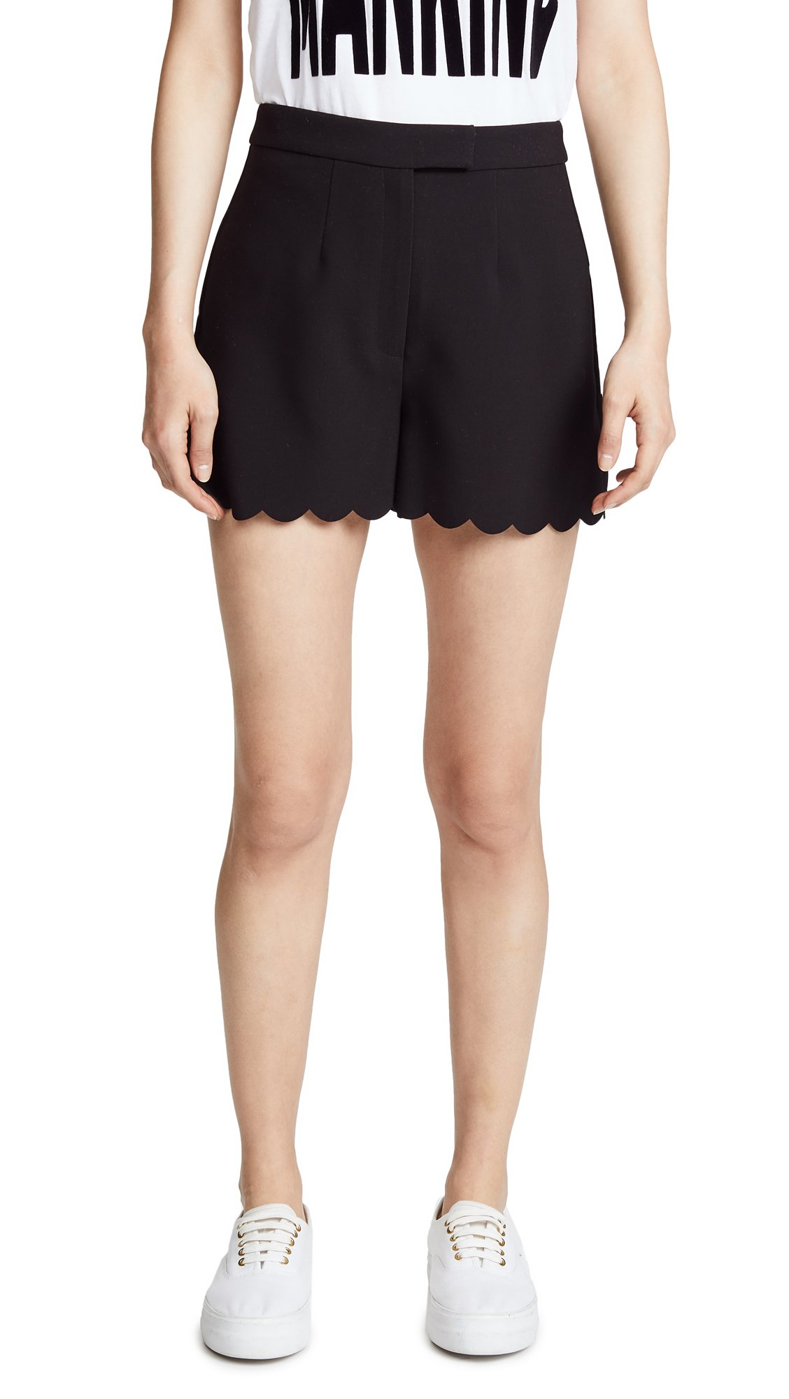 LIKELY Women's Hutton Shorts, Black, 6
