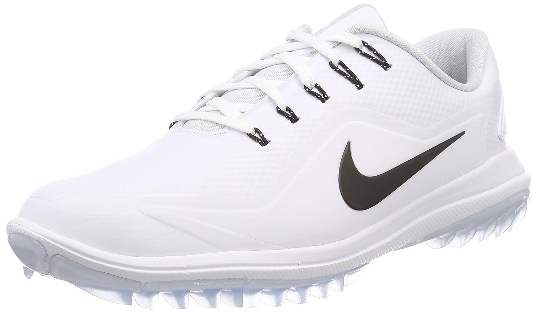 best service 1ca78 d2646 Amazon.com  Nike Lunar Control Vapor 2 Spikeless Golf Shoes 2017 White  Black-Pure Platinum-Volt Medium 7  Sports   Outdoors