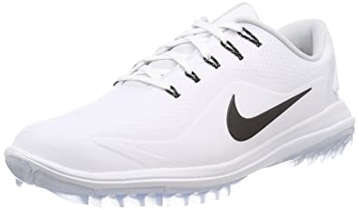 uk availability 49537 be037 Nike Men s Lunar Control Vapor 2 Golf Shoes, White Black-Pure Platinum