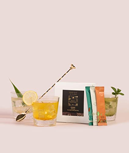 THE IBODY 3 Day Cleanse Supports Immune System Detox Water Infusions Vitamins and Minerals Chlorella Mint Aloe Ginger Lemon Turmeric Cayenne Plant Based Vegan 15 Packets Per Box