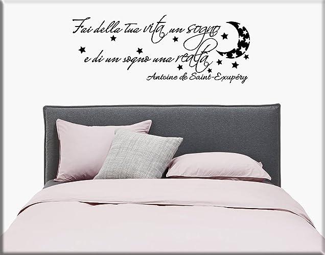 adesivi da parete adesivi murali frasi camera da letto wall ... - Adesivi Murali Per Camera Da Letto
