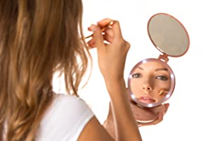 what type lighted makeup mirror you need?