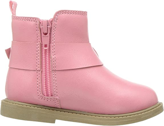 Carter/'s Kids Girl/'s Connie2 Pink Boot Ankle