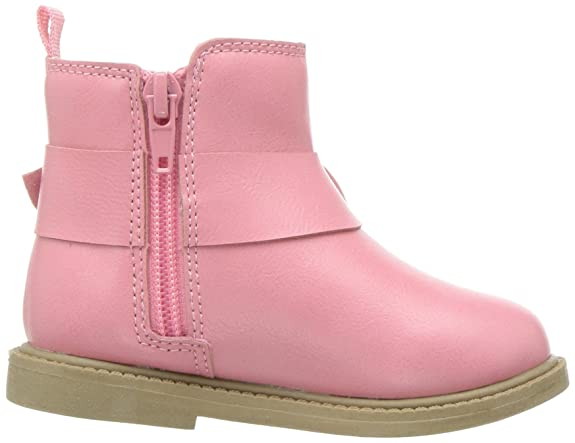 Carters Kids Girls Connie2 Pink Boot Ankle Carter/'s Kids Girl/'s Connie2 Pink Boot Ankle CF180392