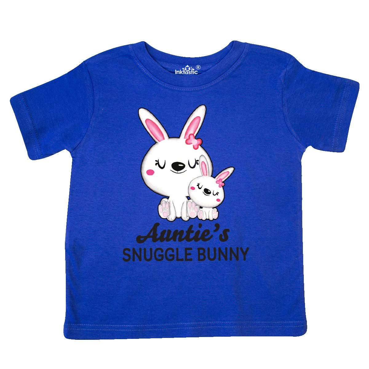 inktastic Aunties Snuggle Bunny Easter Toddler T-Shirt