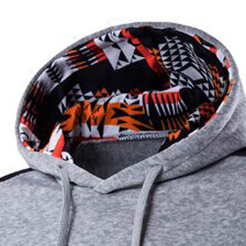 Amazon.com: Fashion Men Women 3D Hooded Pop Art Print Geometric Flowers Eye Sweatshirt Pullovers with Pocket,Lavender,L: Clothing