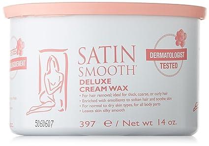 Satin Smooth Deluxe Crema depilatoria - 400 ml: Amazon.es ...