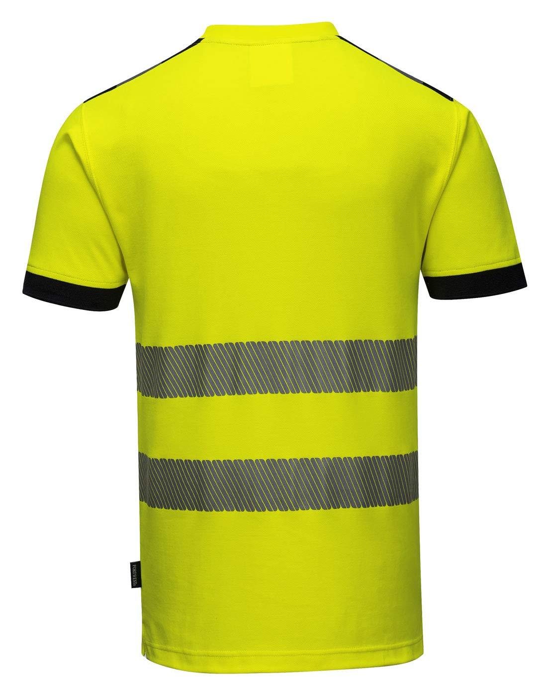 Orange 2/x L Portwest T181orrxxl Vision T-shirt haute visibilit/é