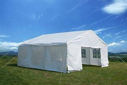 Amazon com: Feelway 20x20 Heavy Duty Party Tent Carport